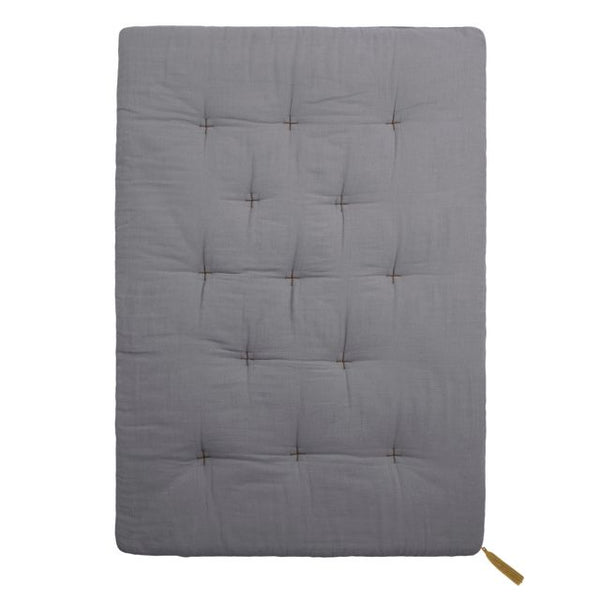 futon playmat - stone grey