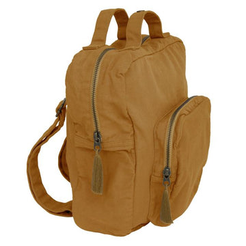 toddler backpack - gold