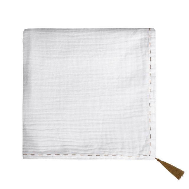 swaddle wrap - white