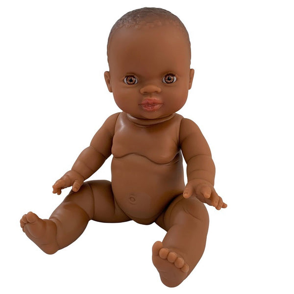 african baby girl - trina - 34cm