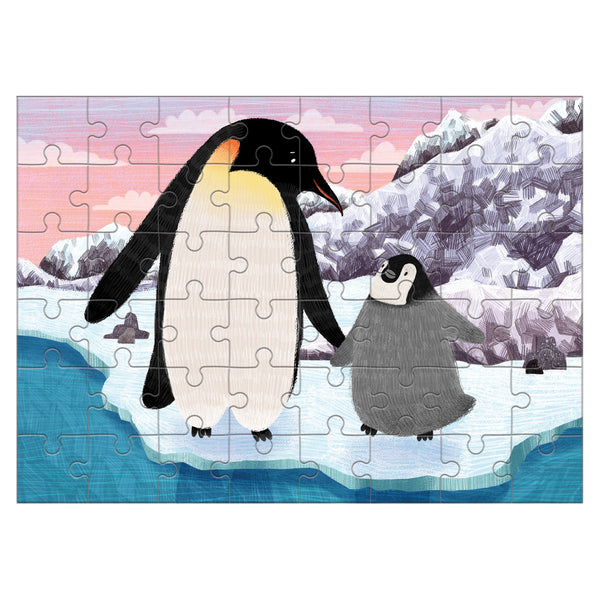 penguin mini puzzle