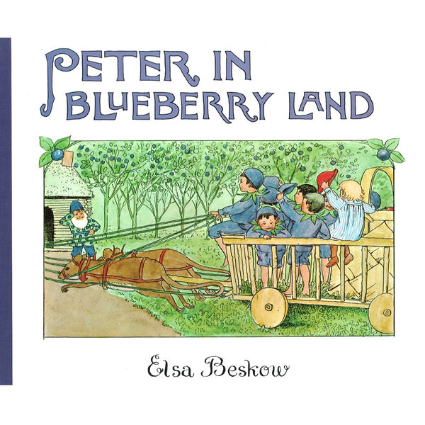 peter in blueberry land (mini edition)