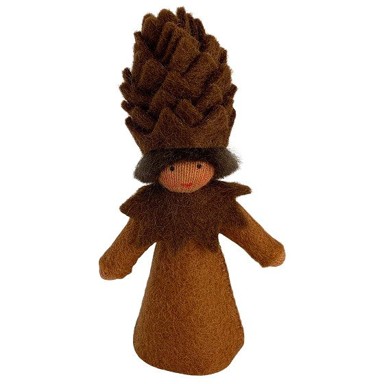 pinecone flower fairy - medium