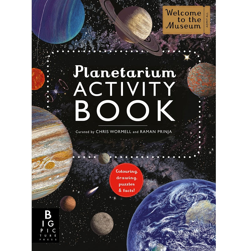 planetarium activity book