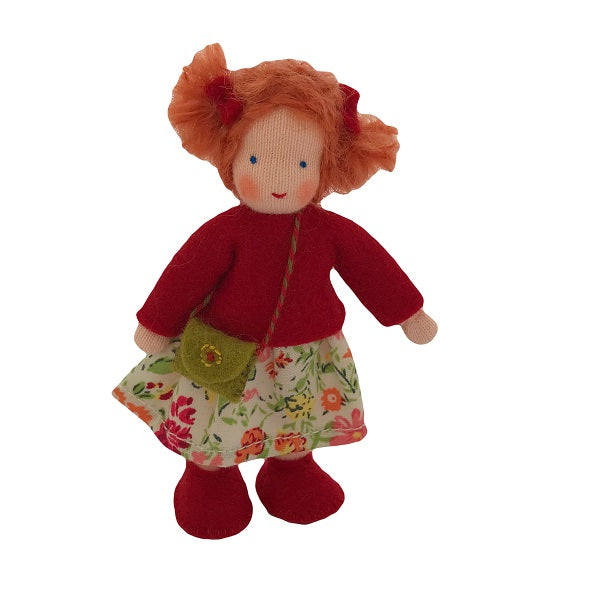 red hair dollhouse sister doll