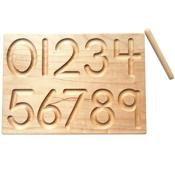 reversible number board