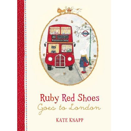 ruby red shoes goes to london