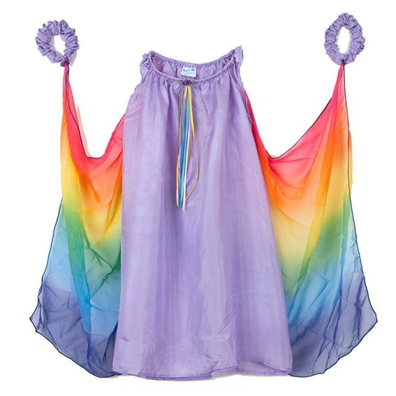 fairy dress with wings - lavender