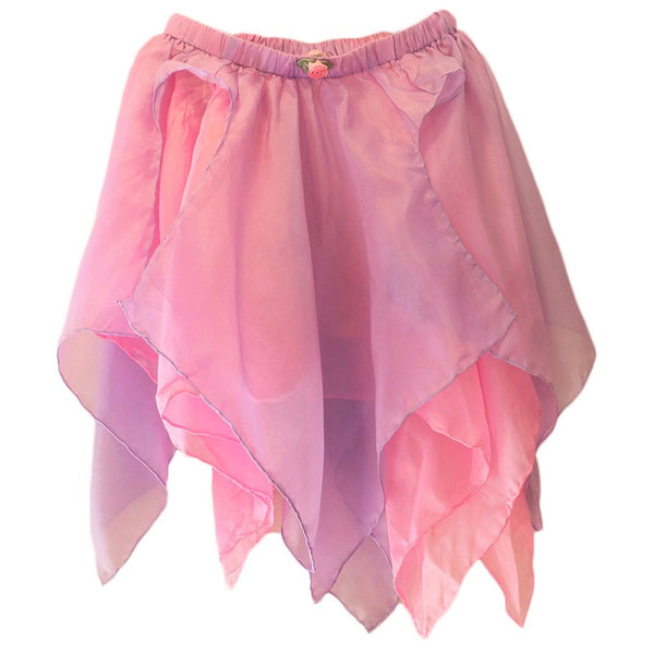 silk fairy skirt - pink/lavender
