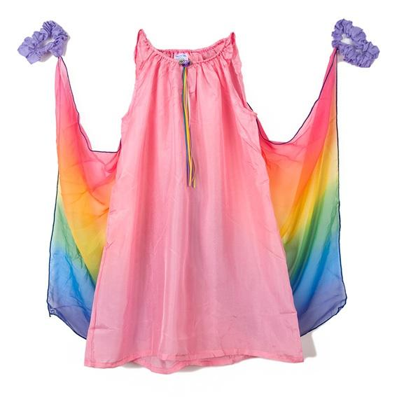 fairy dress with wings - pink
