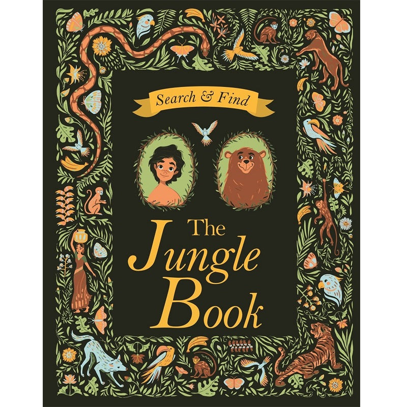 search and find: the jungle book