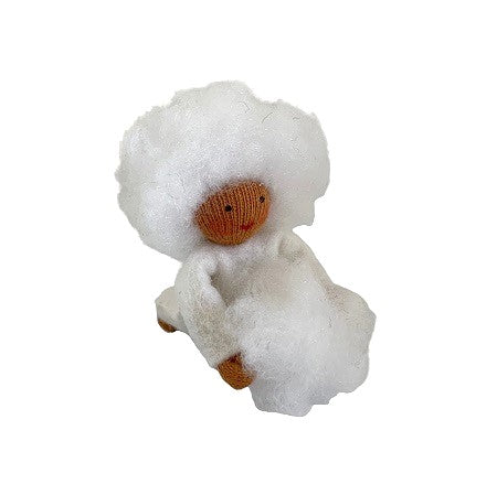 snowball flower fairy (hanging decoration) - medium