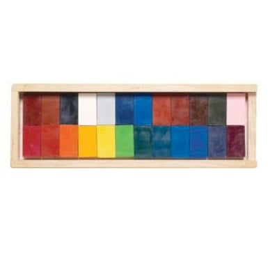 block crayons - set of 24