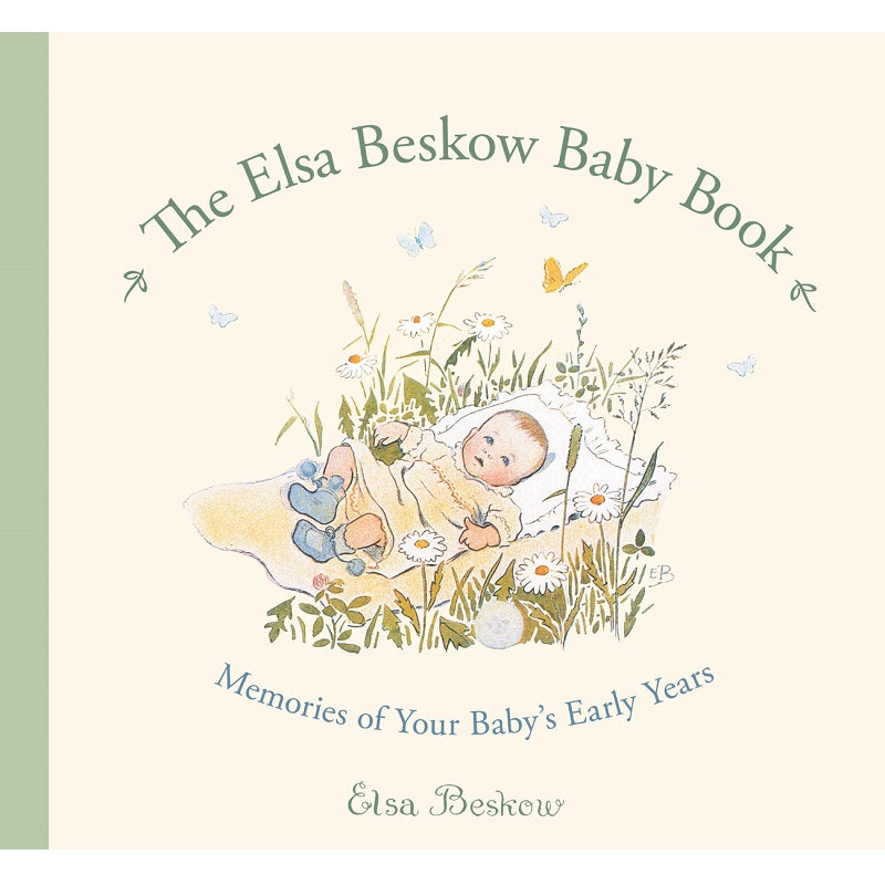 the elsa beskow baby book: memories of your baby's early years