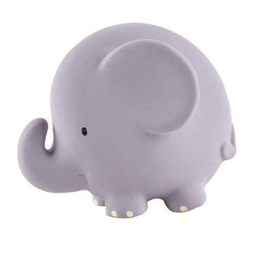 natural rubber teether / bath toy - elephant