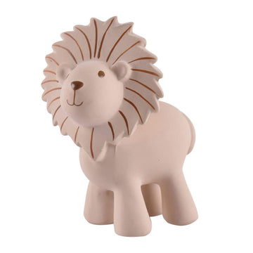 natural rubber teether / bath toy - lion