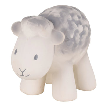 natural rubber teether / bath toy - sheep