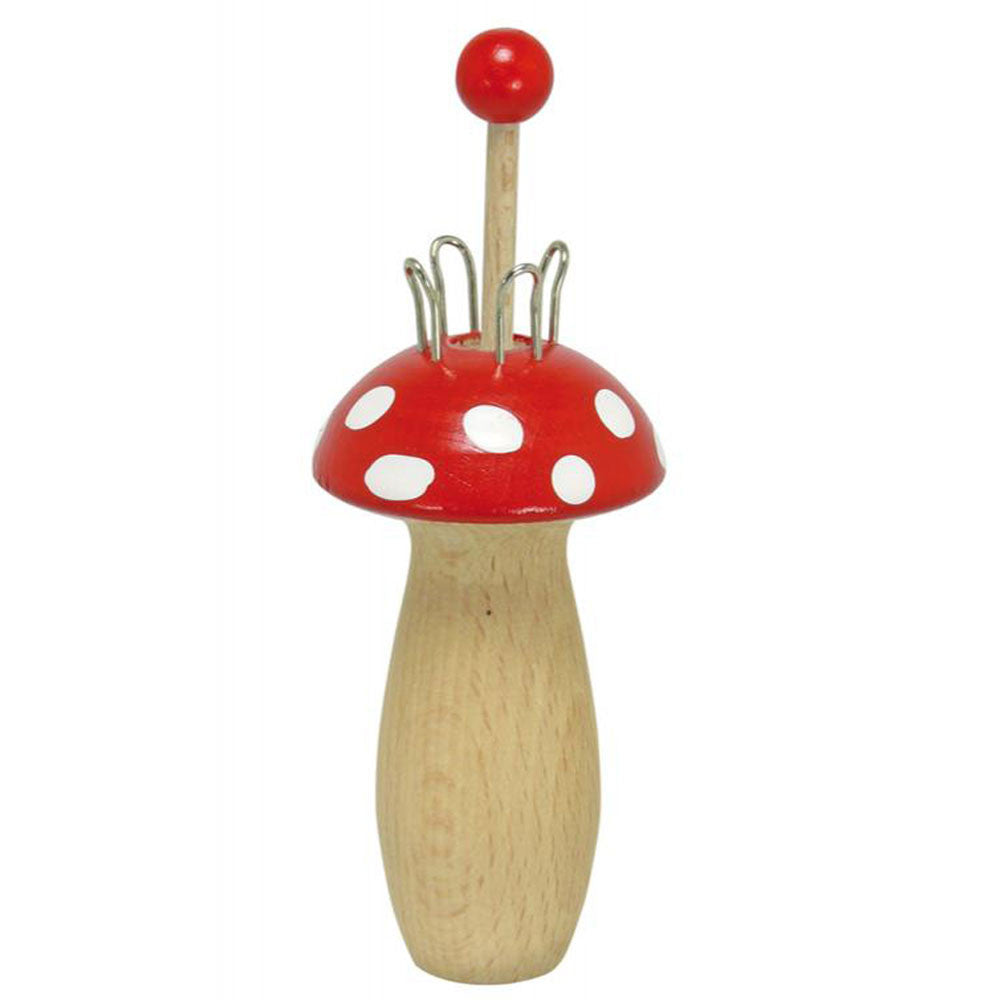 toadstool knitting spool