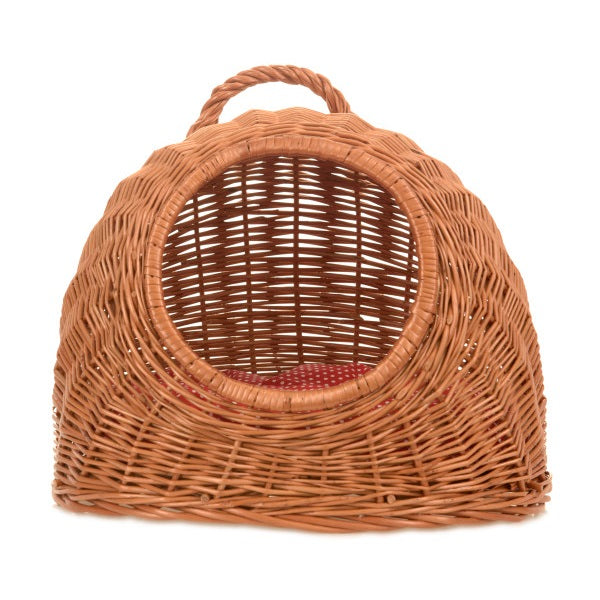 wicker cat basket
