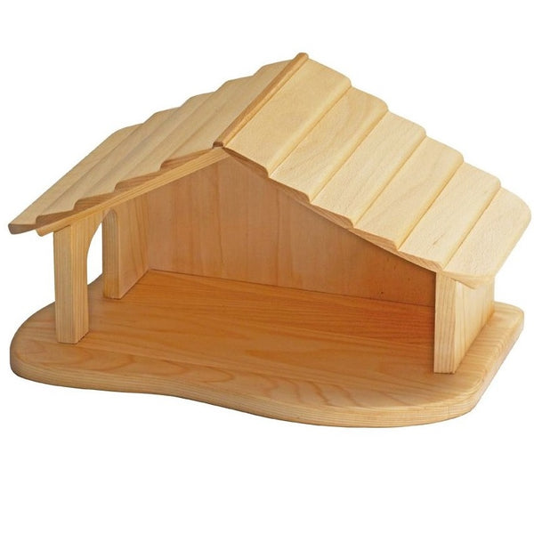 wooden stable / nativity scene