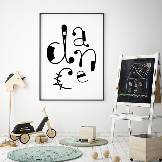 DANCE - Wall Decor