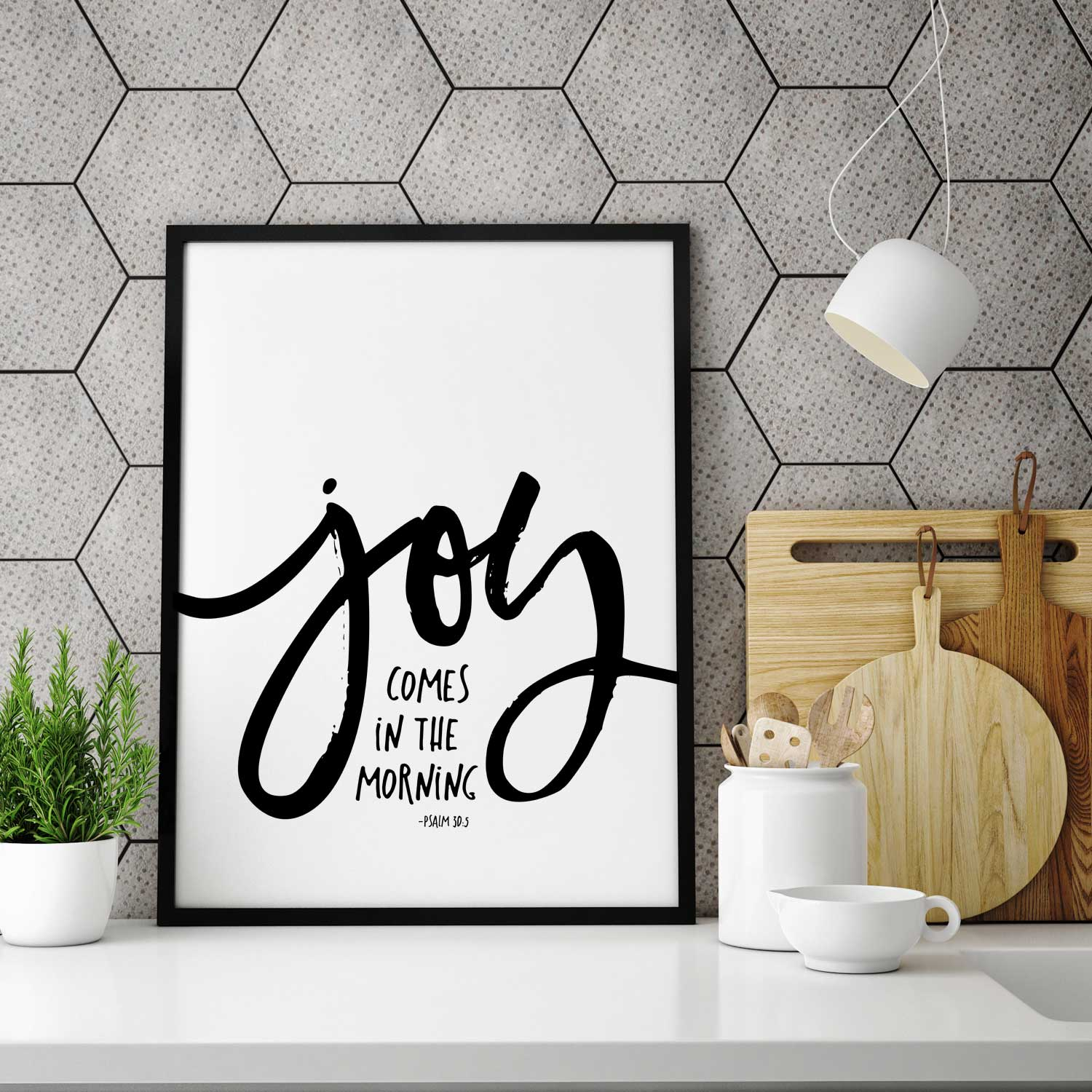 Joy comes in the morning - Wall Decor