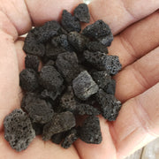 1 Lb 3/8 Black Volcanic Grava Rock Cactus and Succulent Top Soil Dressing