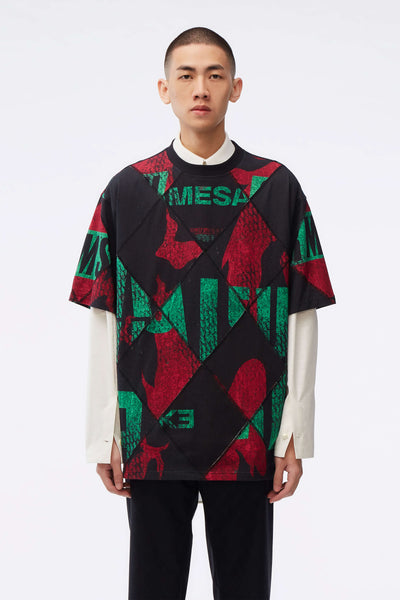 NAMESAKE - Argyle Deconstructed Tee
