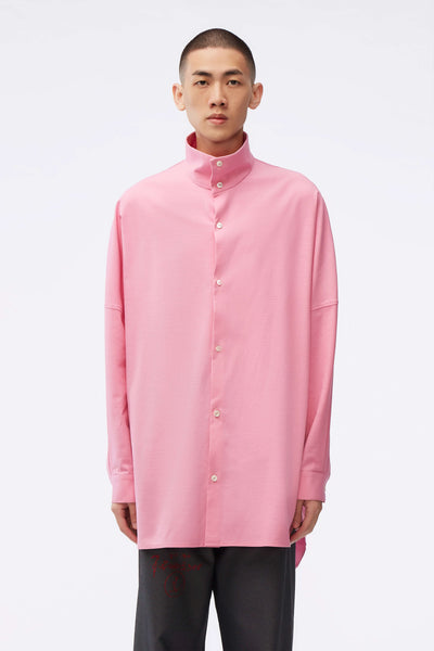 NAMESAKE - Adams Turtleneck Shirt Sakura Pink