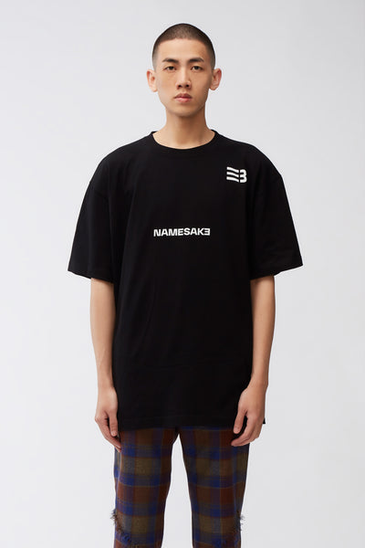 NAMESAKE - Sava Oversized Tee Black