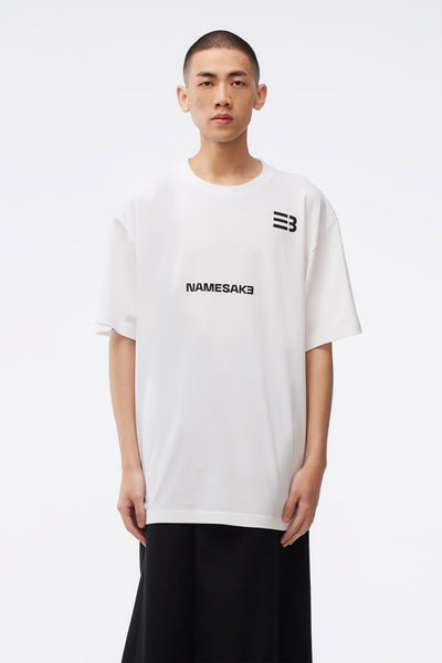 NAMESAKE - Sava Oversized Tee White