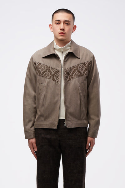 Adish - Sawsanas Wool Zip Jacket Light Brown