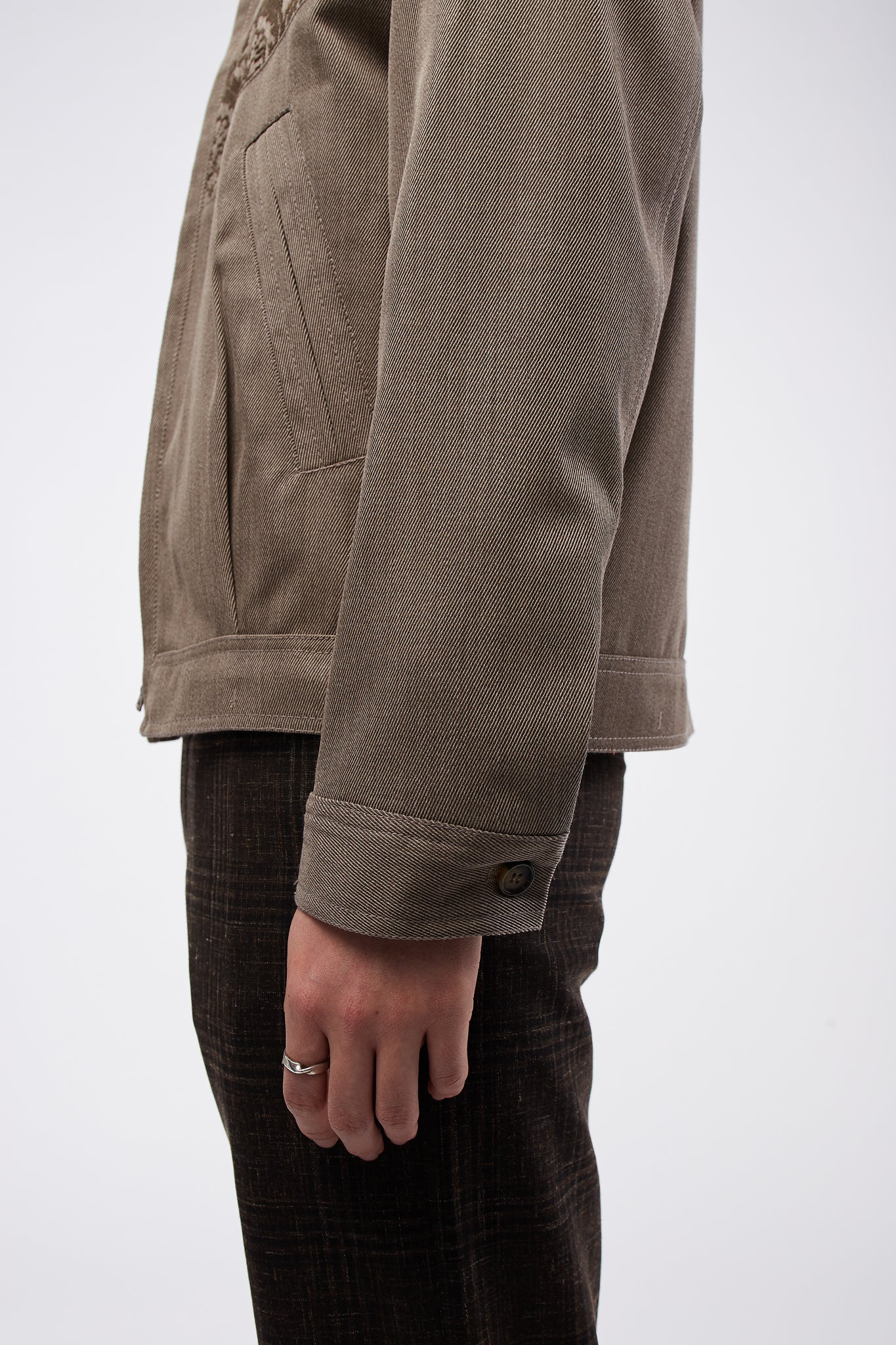 Sawsanas Wool Zip Jacket Light Brown