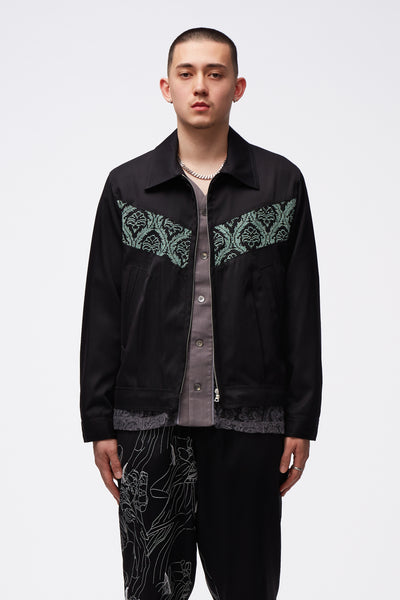 Adish - Sawsanas Wool Zip Jacket Black