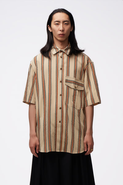 Song for the mute - S/S Military Shirt Sand