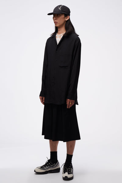 L/S Oversized Shirt Black