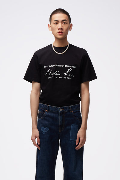 Martine Rose - Classic S/S T-shirt Black
