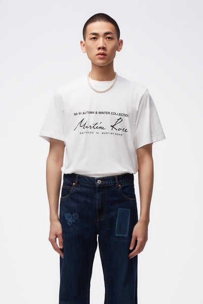 Martine Rose - Classic S/S T-shirt White