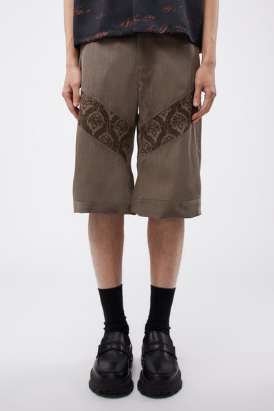 Adish - Sawsanas Wool Shorts Light Brown