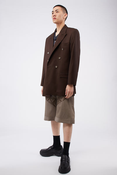 Sawsanas Wool Shorts Light Brown