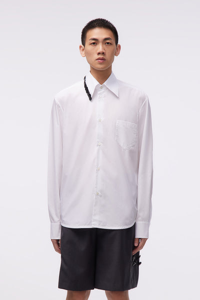 NAMACHEKO - Shirt With Embroidery White