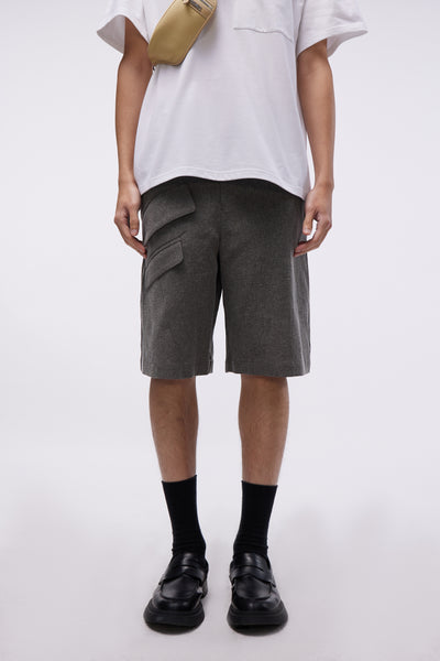 Jacquemus - Le Short Colza Dark Grey