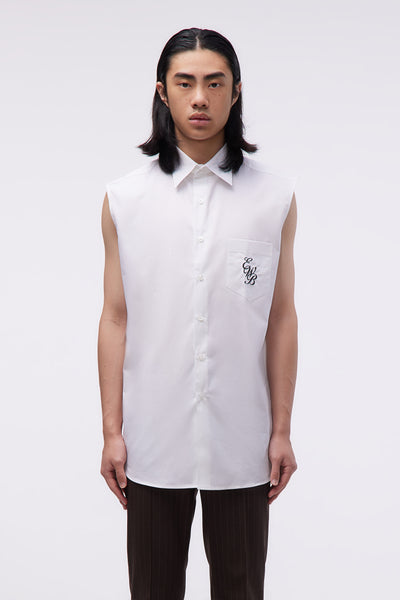 Ernest W. Baker - Sleeveless Shirt Light White