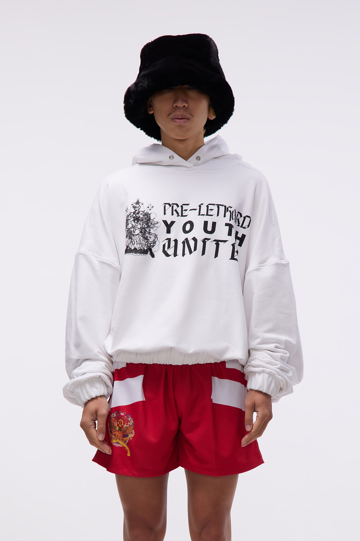 Youth Hoodie White