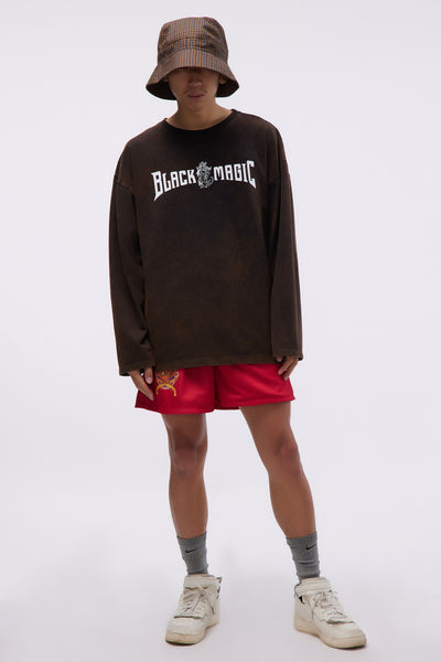 Longsleeve Black Magic T-shirt Dirty Black