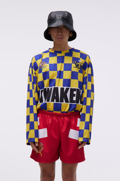 Liberal Youth Ministry - Awaken Jersey Yellow / Blue