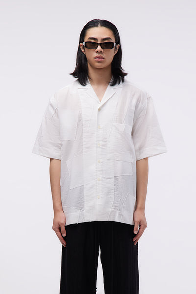 Song for the mute - S/S Box Shirt White