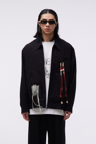 Song for the mute - Small Bird Coach Jacket Black