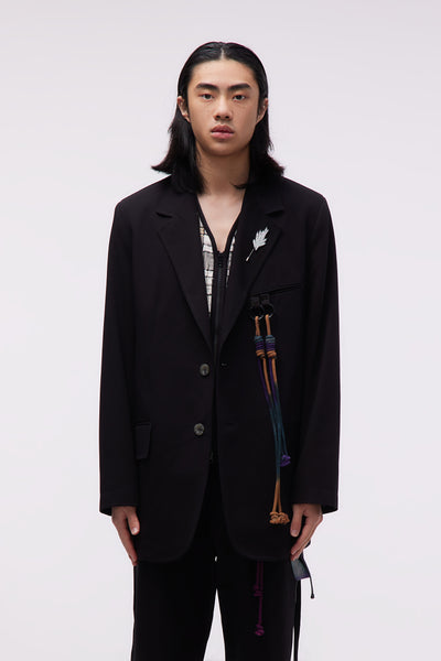 Song for the mute - Oversized Blazer Black