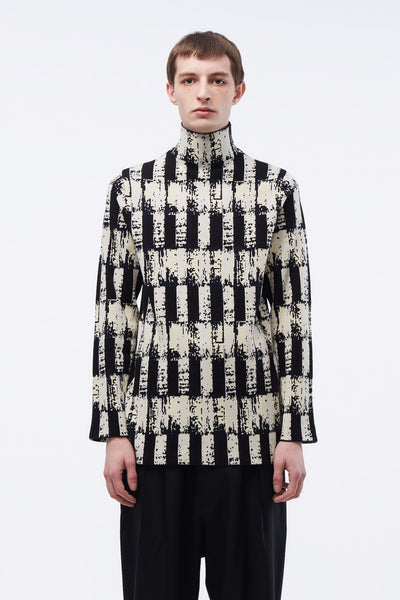 NAMACHEKO - Tsivot Turtleneck Black/white